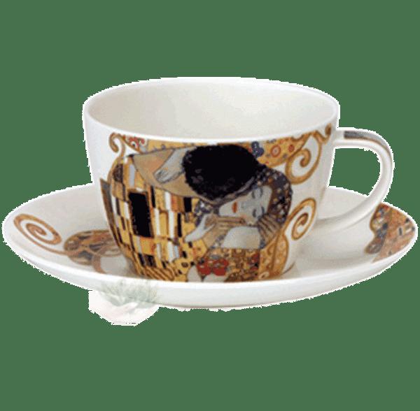 Bild von Breakfast Cup & Saucer Set Belle Epoque kiss