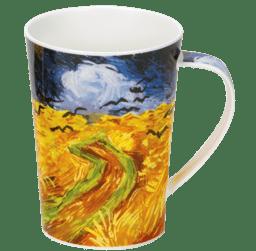 Bild von Dunoon Argyll Impressionist Landscapes Wheat Field