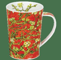 Bild von Dunoon Argyll Almond Blossom Tree Red