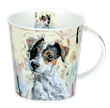 Bild von Dunoon Cairngorm Dogs on Canvas Jack Russell