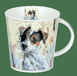 Bild von Dunoon Cairngorm Dogs on Canvas Jack Russell