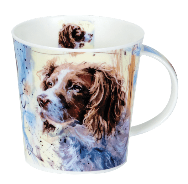 Bild von Dunoon Cairngorm Dogs on Canvas Springer