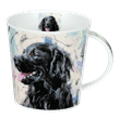 Dunoon Cairngorm Dogs on Canvas Flat Coated Retriever, Bild 1