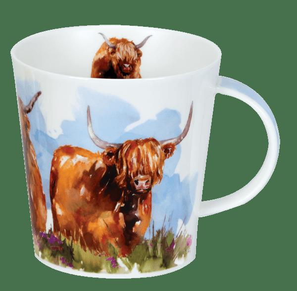 Bild von Dunoon Cairngorm Highland Cows