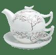 Bild von TeaLogic White Cherry Tea for One Set