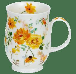 Bild von Dunoon Suffolk Floral Harmony Yellow