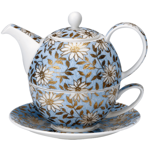 Bild von Dunoon Tea for one set Aqua