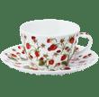 Bild von Breakfast Cup & Saucer Set Dovedale Strawberry, Bild 1