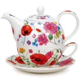 Bild von Dunoon Tea for one set Wild Garden