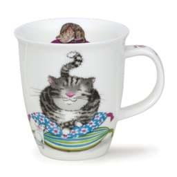 Bild von Dunoon Nevis Comfy Cats Grey