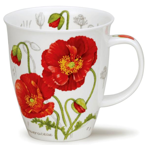 Bild von Dunoon Nevis Botanical Sketch Poppy