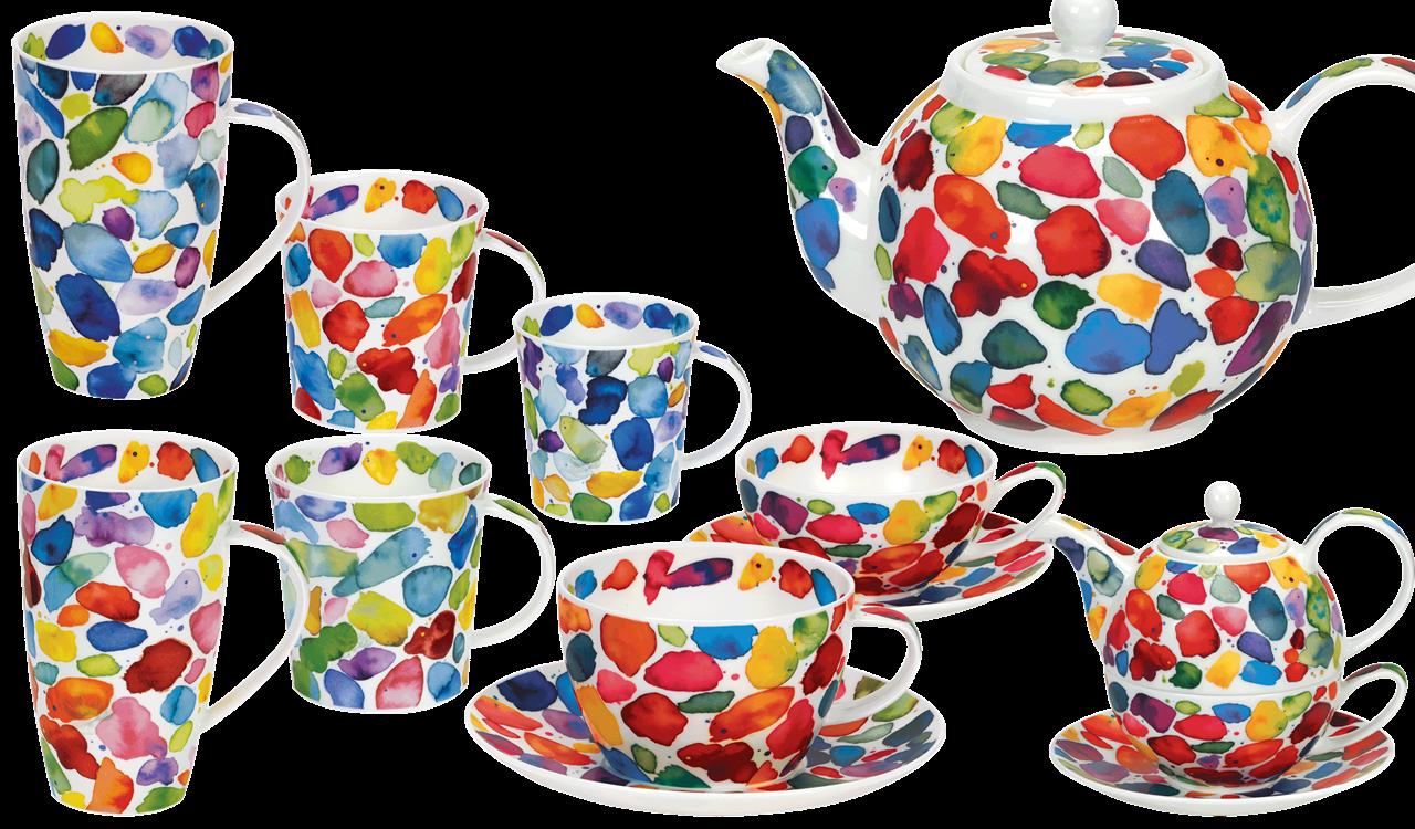 Bild von Dunoon Teapot Large Blobs