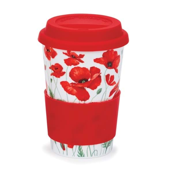 Bild von Dunoon Travel Mug Poppies