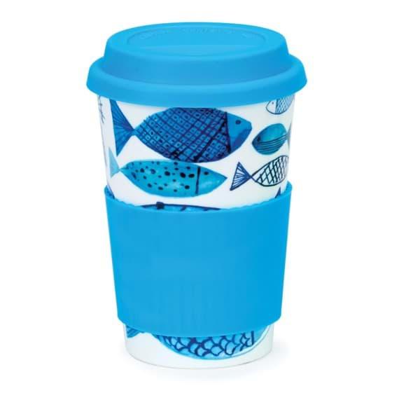 Bild von Dunoon Travel Mug Go Fish