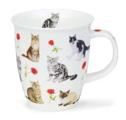 Bild von Dunoon Nevis Flower Cats Red