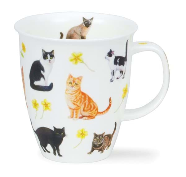 Bild von Dunoon Nevis Flower Cats Yellow