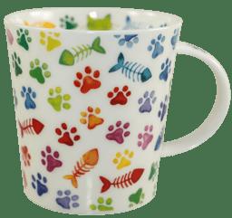 Bild von Dunoon Lomond Cat Pawprints