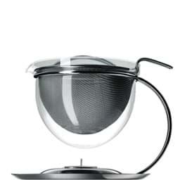 Bild von Mono filio Teekanne mit integriertem Stövchen 1,5 L