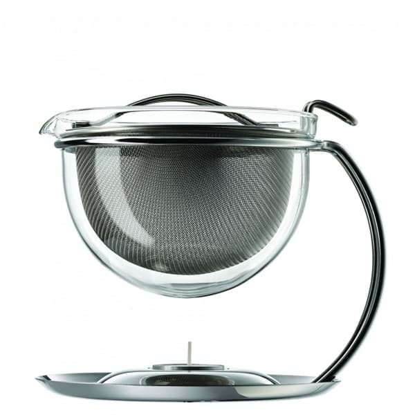 Bild von Mono filio Teekanne mit integriertem Stövchen 0,6 L