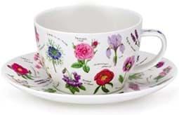 Bild von Dunoon Breakfast Cup & Saucer Set Florabunda