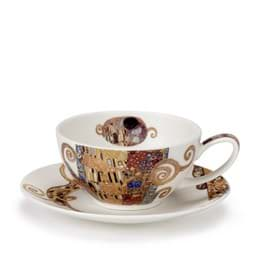 Bild von Dunoon Tea Cup & Saucer Set Belle Epoque kiss