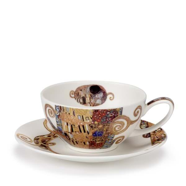 Bild von Dunoon Tea Cup & Saucer Set Belle Epoque kiss