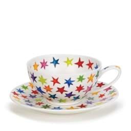 Bild von Dunoon Tea Cup & Saucer Set Starburst