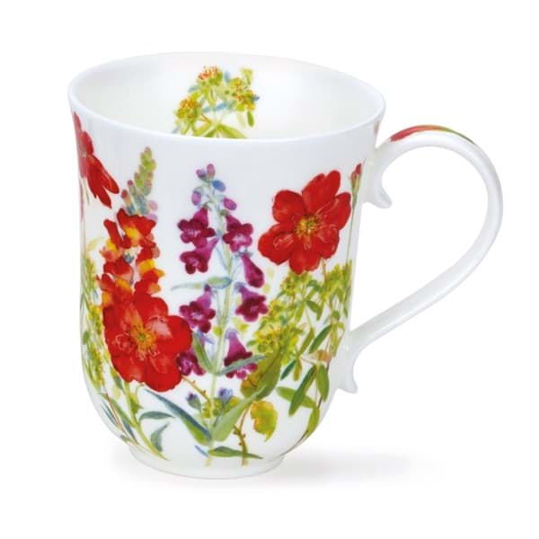 Bild von Dunoon Braemar Cottage Flowers Red