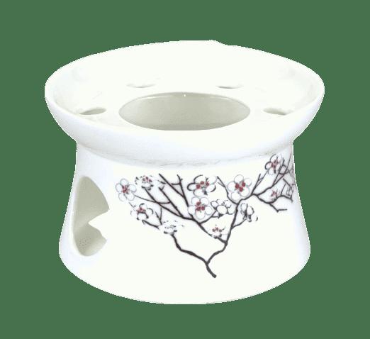 Bild von TeaLogic White Cherry Stövchen für 1,0 l Kanne