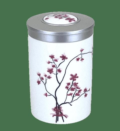 """Bild von Porzellan Dose """"Kirschblüte"""""""