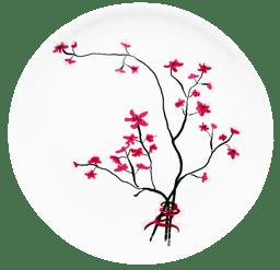 Bild von TeaLogic Cherry Blossom Teller