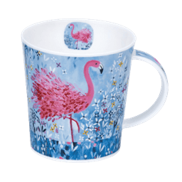 Bild von Dunoon Lomond Fancy Feathers Flamingo