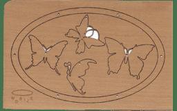 """Bild von Holzpost - Grußkarte """"Mobile"""""""