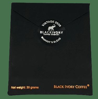Bild von Black Ivory Mahout's Blend Kaffee